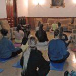 Yoga en la residencia universitaria Inmaculada de Barcelona